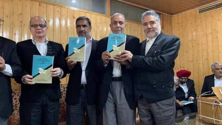 JKHCBA RELEASES BOOK ON ARTICLE 35- A.